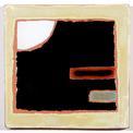 Carreau décoré motif Graphix 6 peint à la main - Salernes